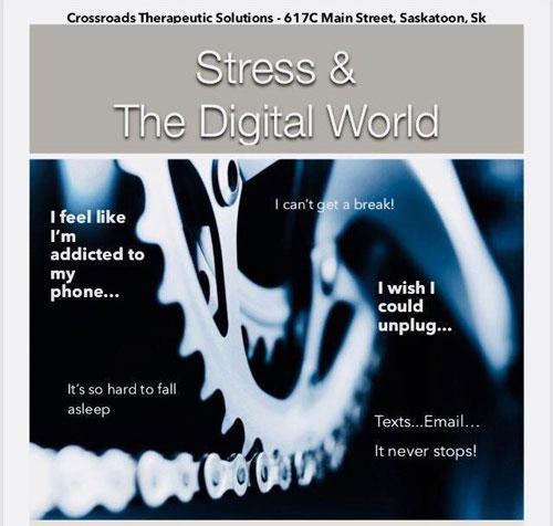 Stress & the digital world